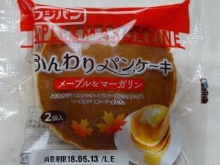 フジパン ふんわりパンケーキ メープル&マーガリン.jpg