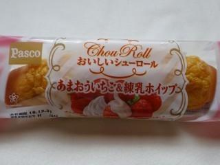 Pasco おいしいシューロール あまおういちご&練乳ホイップ.jpg