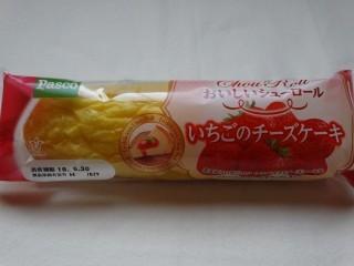 Pasco おいしいシューロール いちごのチーズケーキ.jpg