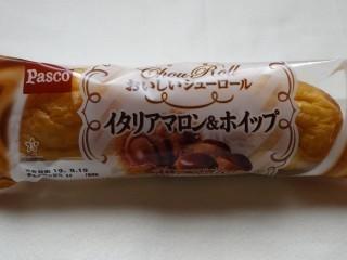 Pasco おいしいシューロール イタリアマロン&ホイップ.jpg