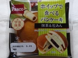 Pasco ホイップで食べるパンケーキ 抹茶&つぶあん.jpg