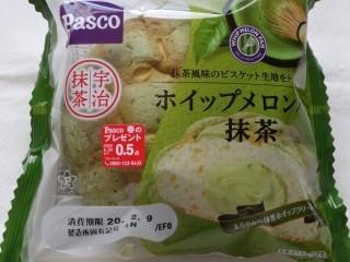 Pasco ホイップメロンパン 抹茶.jpg