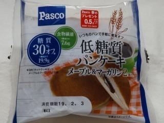 Pasco 低糖質パンケーキ メープル&マーガリン(2個入).jpg