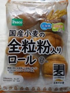 Pasco 国産小麦の全粒粉入りロール(6個入).jpg