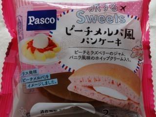 Pasco 旅するsweets ピーチメルバ風パンケーキ(2個入).jpg