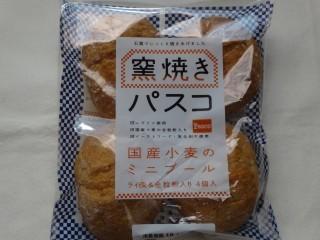 Pasco 窯焼きパスコ 国産小麦のミニブール ライ麦&全粒粉入り(4個入).jpg